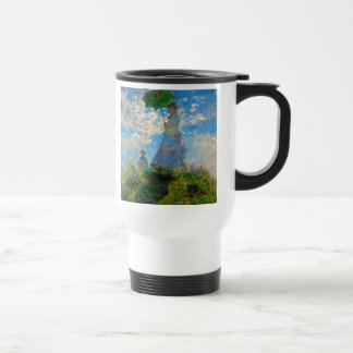 Woman with a Parasol Claude Monet Impressionist Mugs