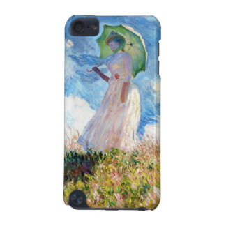 Woman with a Parasol Claude Monet iPod Touch 5G Cases