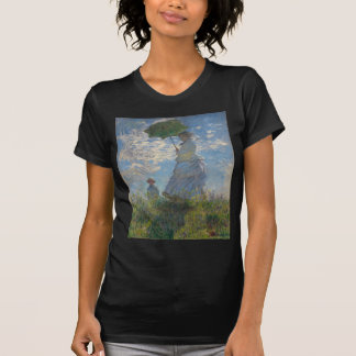 Woman with a Parasol - Madame Monet and Her Son T-Shirt