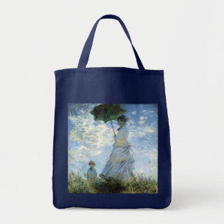Woman with a Parasol Tote Bag