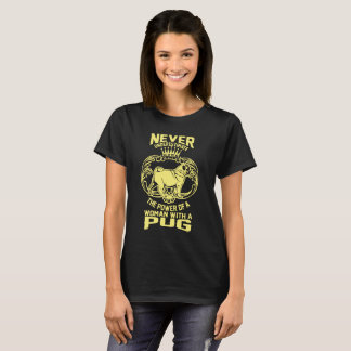 Woman With A Pug T-Shirt