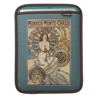 Woman with Feathers - PLM Railway Travel Poster iPad Sleeve