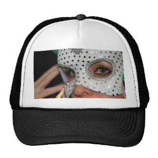Woman With Mask Cap