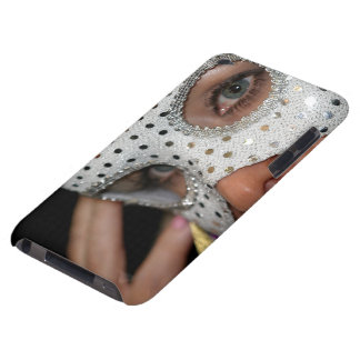 Woman With Mask iPod Case-Mate Cases