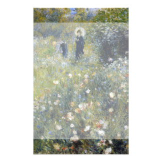 Woman with Parasol in a Garden by Renoir Full Color Flyer