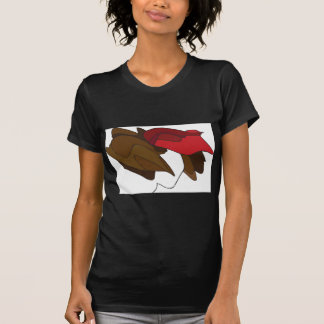 Woman with Red Hat Tee Shirts