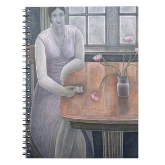 Woman with Small Cup 2007 Notebooks