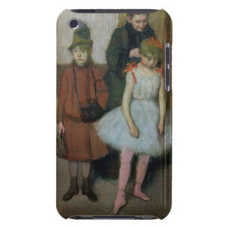 Woman with two little girls (pastel) iPod touch case