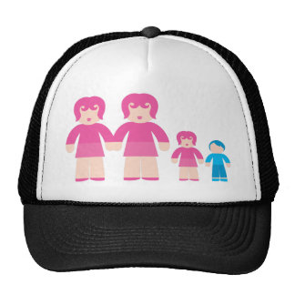 Woman Woman and Cap