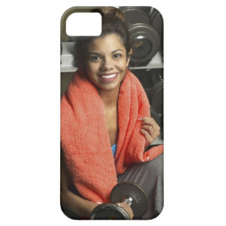 Woman working out iPhone 5 case