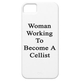 Woman Working To Become A Cellist iPhone 5 Case
