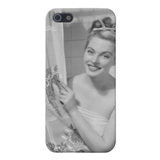 Woman Wrapped Up iPhone 5/5S Case