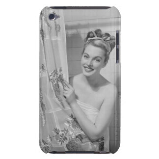 Woman Wrapped Up iPod Touch Case