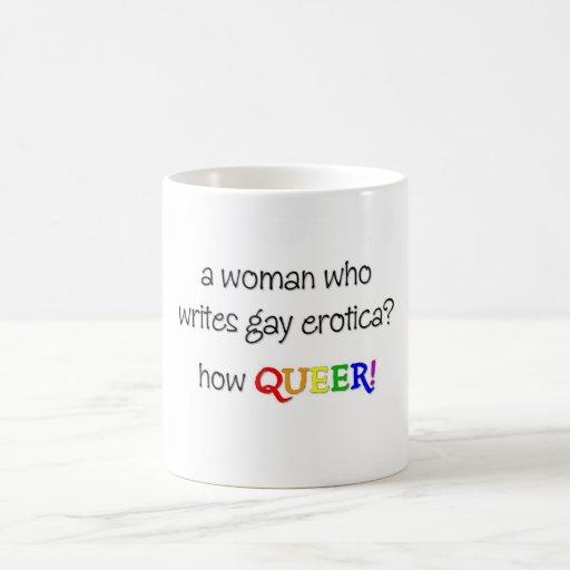 Woman Writer Coffee Mugs