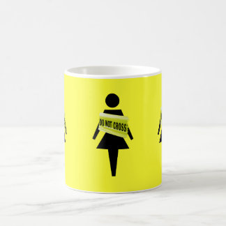 Woman's attitude funny image coffee mug