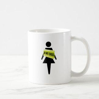 Woman's attitude funny image mugs