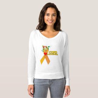 Woman's COPD  AWARENESS T-SHIRT