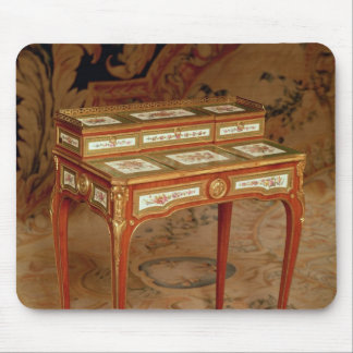 Woman's desk with panels of Sevres porcelain Mouse Pad