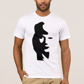 Woman's Face or Saxophone player? T-Shirt