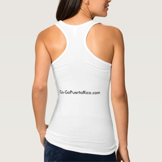 Womans Go-GoPuertoRico racerback shirt