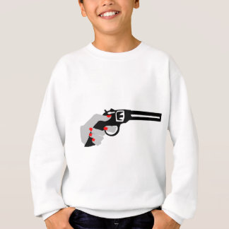 Woman's Hand and Gun Sweatshirt