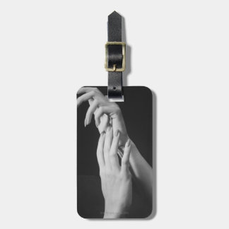 Womans Hands Luggage Tag