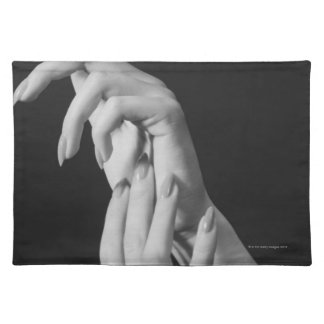 Womans Hands Placemat