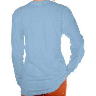 Woman's Hanes Nano Long Sleeve top with message Tee Shirts