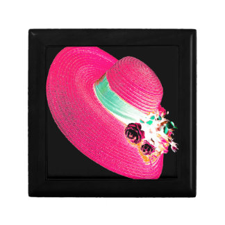 woman's hat gift box
