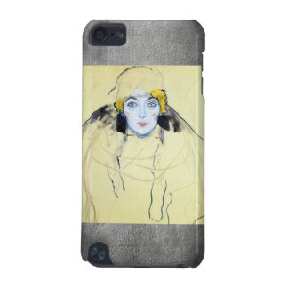 Womans head by Gustav Klimt iPod Touch 5G Cases