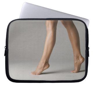 Woman's legs laptop sleeve