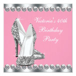 Womans Pink Birthday Party