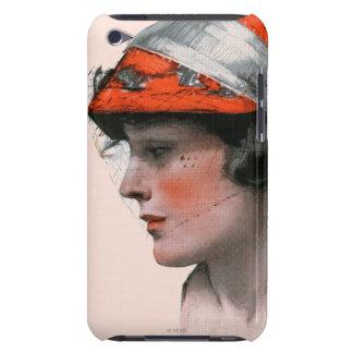 Woman's Profile iPod Case-Mate Cases