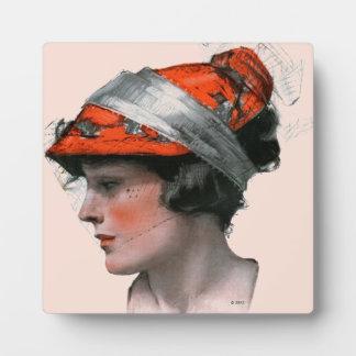 Woman's Profile Plaque