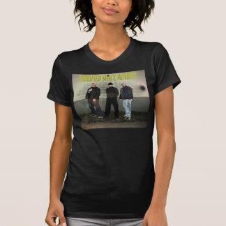 Woman's TERRIFIED SPACE MONKEYS Tee shirt