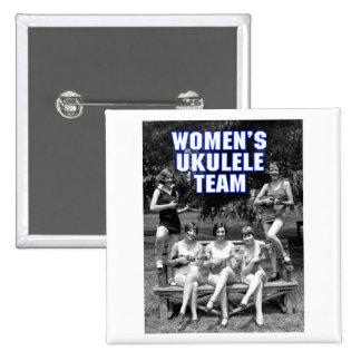 Woman's Uke Team Button