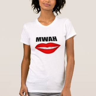 Womans Vest - Mwah T-Shirt
