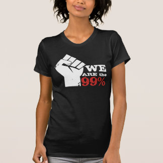 Womans We Are The 99% T Shirt