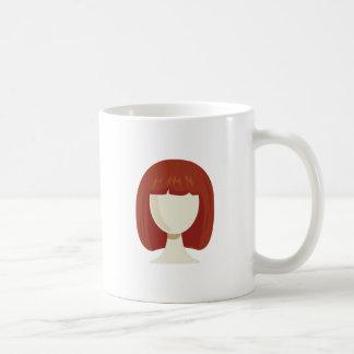 Womans Wig Mugs