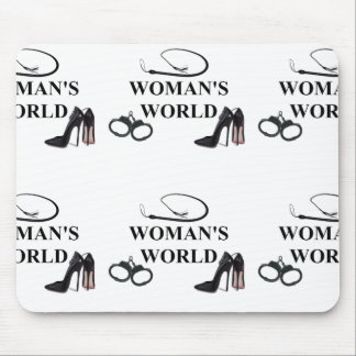 WOMAN'S WORLD MOUSE PAD