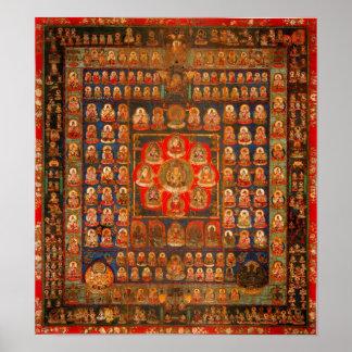 Womb Realm Mandala Poster