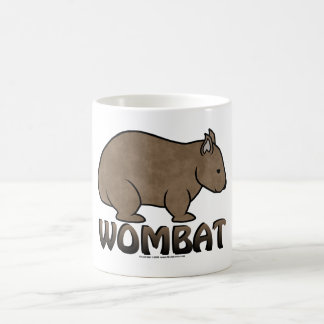 Wombat Logo II Basic White Mug