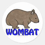 Wombat Logo III Sticker