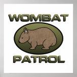 Wombat Patrol II Print