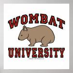 Wombat University Print