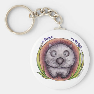 'Wombie' the wombat Key Chain