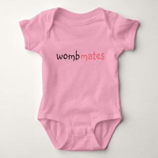wombmates baby bodysuit