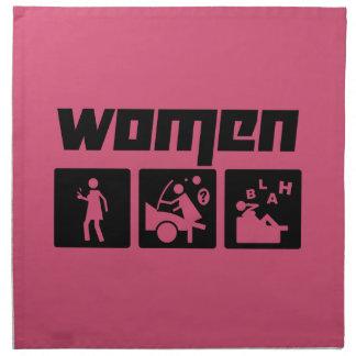 Women 3 napkin