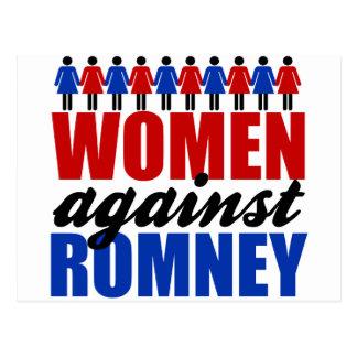 Women Against Romney Postcard