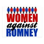 Women Against Romney Postcards
